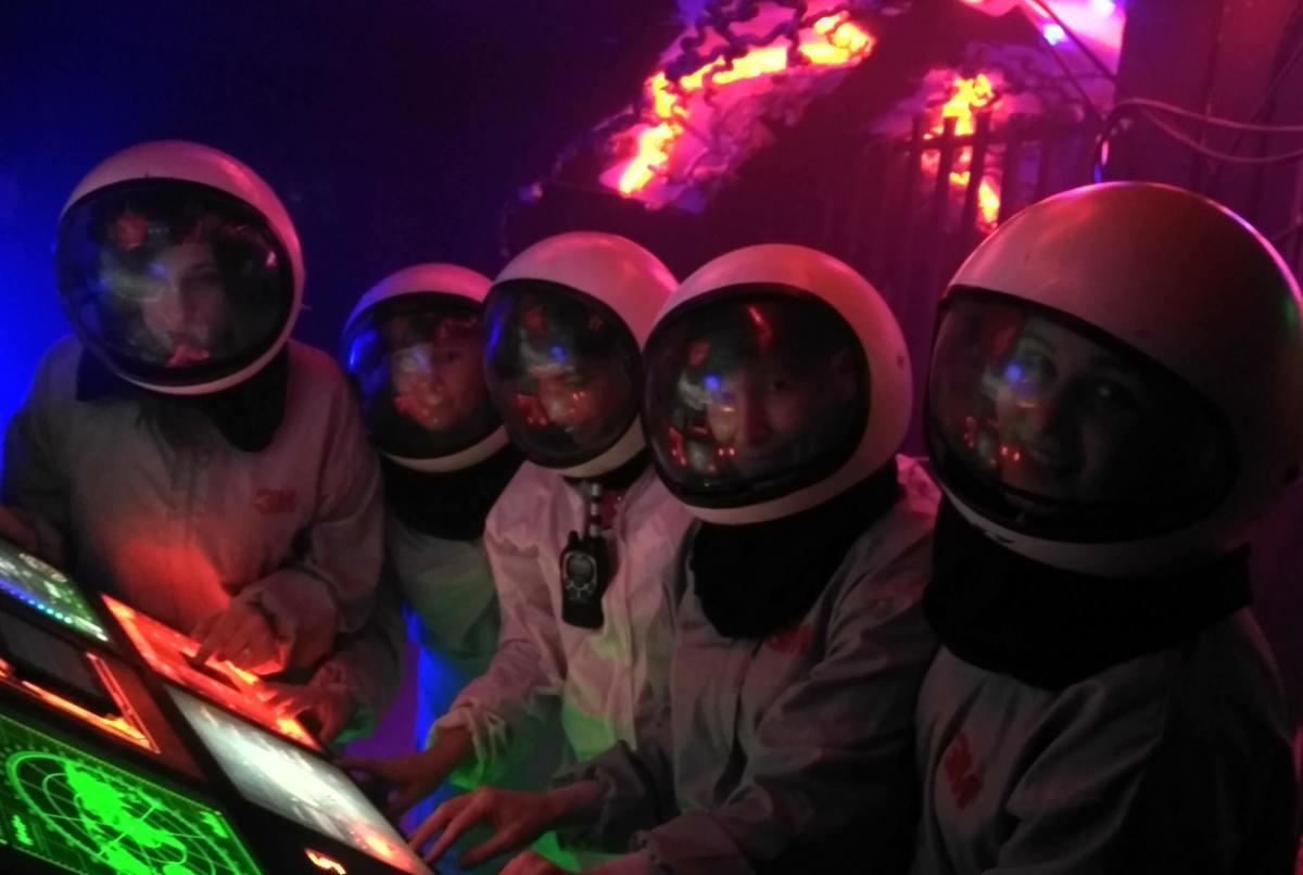 Квест в реальности Астероид от компании Generoom